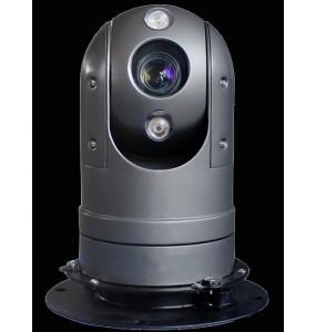 Caméra Dôme motorisée PTZ embarquée durcie IP68