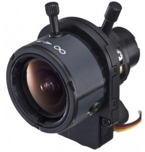 """DF006 Tamron high resolution wide angle object Manual zoom / focus 1/3 """"2.4-6mm F / 1.2 DC-Iris"""