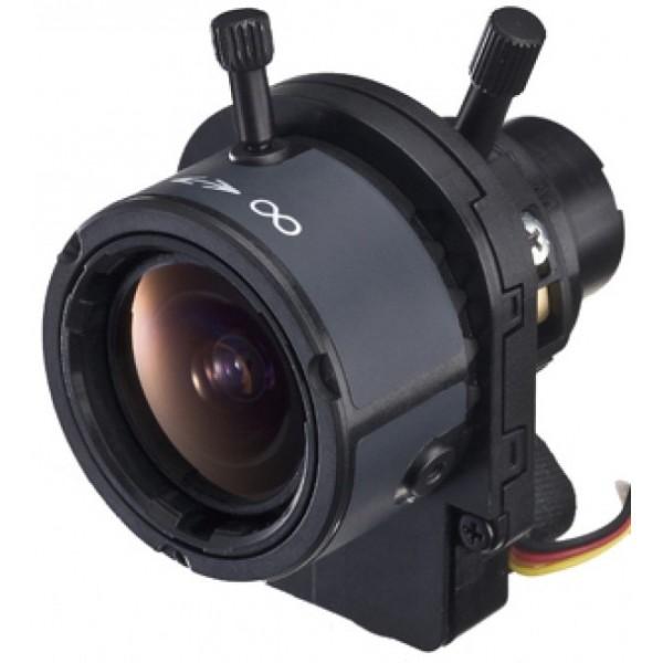"""Objetcif Tamron DF006 grand angle haute résolution Zoom / mise au point manuels 1/3 """"2,4-6 mm F / 1,2 DC-Iris"""