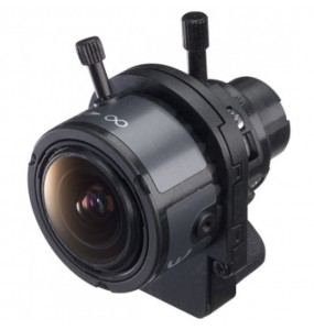 DF004 - Vari-Foral lens for high zoom mini dome camera