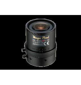 Tamron M13VG288IR Objectif Megapixels asphérique IR compatible CCTV Vari-Focal