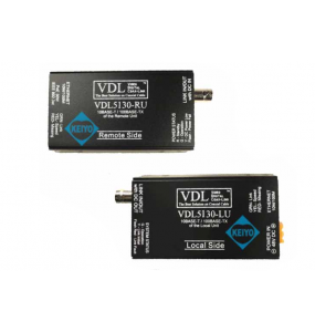 VDL5130 Video transmission system 4 transmitters with only one coaxial cable