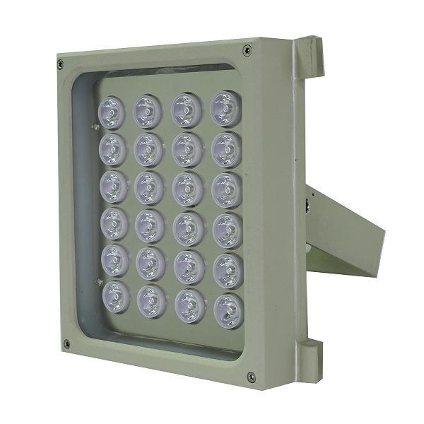 AL301W projecteur blanc extérieur professionnel sécurité video extérieur site sensible surveillance périphérique 220V 12V 24V