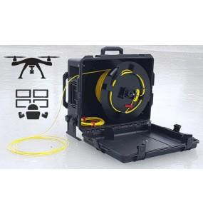 FO-UAV Deport HDMI Fibre Optique pour drone fibre optique