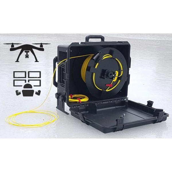 FO-UAV Deport HDMI Fibre Optique pour drone