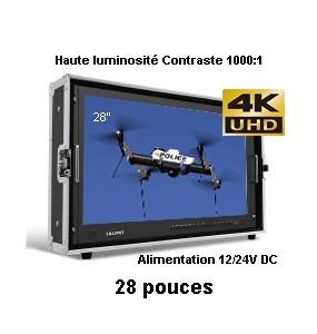 BM280-4K 1080P SDI 4K HDMI Moniteur haute luminosite 1000:1
