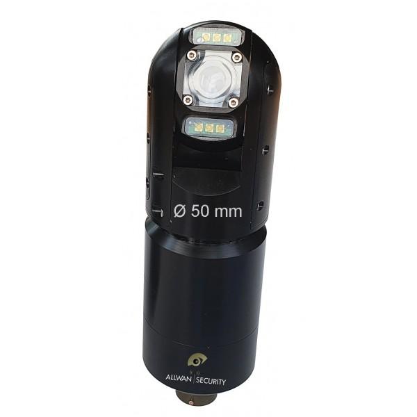 VisioDN camera couleur Pan Tilt HD pour perche télescopique IP68 inspection & securite
