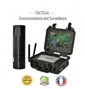 Valise tactique de videosurveillance 4G 1080p HK-CASE