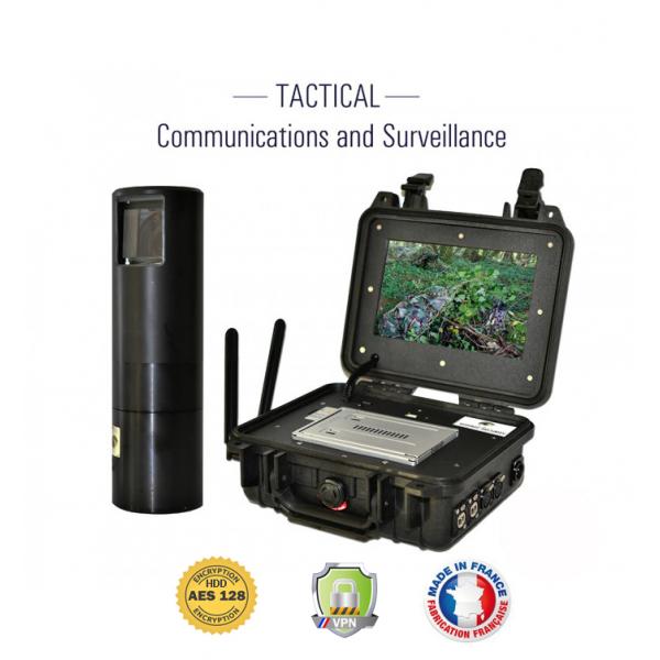 HK-CASE Valise tactique de videosurveillance 4G 1080p