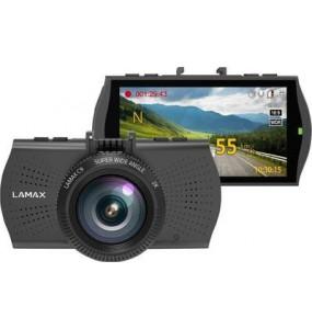 Lamax C9 DASH Camera embarquee GPS