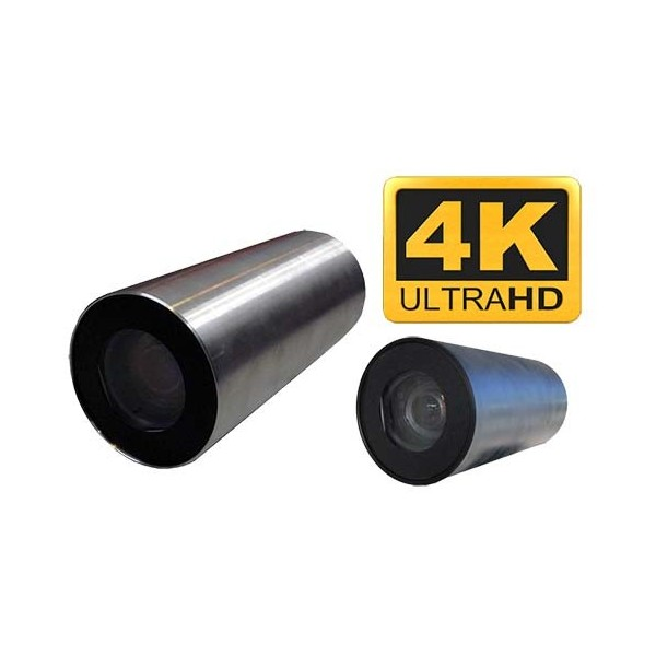 UW-90DIP 4K Camera sous marine zoom pilotable 8MP Ultra-HD ALLWAN 4K IP onvif industrielle inox 316L decontaminable plomb