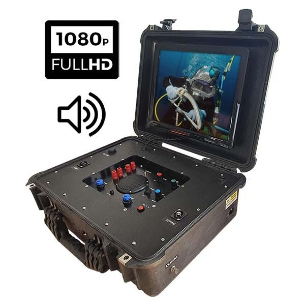 VDR-COM150HD diving monitoring case video and audio recording Full HD 1080p