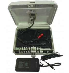 PC7IP4G Coffret fibre optique camera WiFi 4G DVR 1080p - PC7IP4G