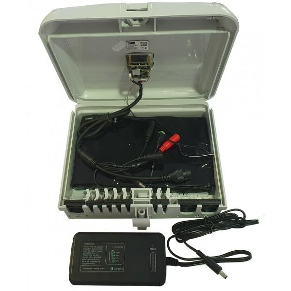Coffret fibre optique camera WiFi 4G DVR 1080p - PC71P4G