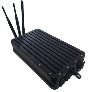 Rugged mobile NVR DVR 4G LTE Military network Real-Time in vehicle army law enforcement