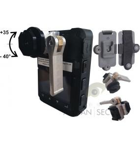 Molle407V attache MOLLE réglage vertical Gilets tactique DOCKMV, Klick fast molle system