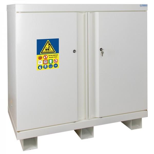 Armoire de securite stockage charge batterie lithium ion