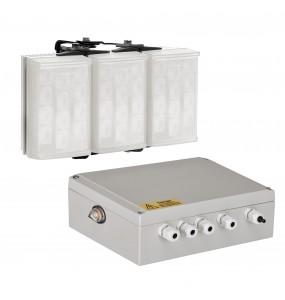 Mid-range white light illuminator
