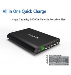 Chargeur pour ordinateur / Ipad - Batterie Externe Lithium
