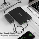 Banque d'alimentation - Chargeur pour ordinateur / Ipad - Batterie Externe Lithium
