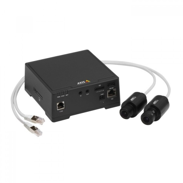AXIS F41 Unité Principale WDR - Forensic Capture et HDTV 1080p pour videosurveillance