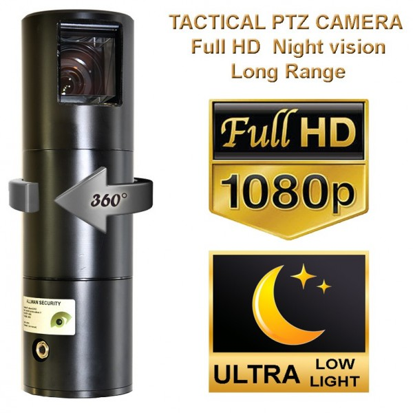 Camera Telescopcam Falcon Darkfigheter IP68 Motorisée PTZ vision nocturne