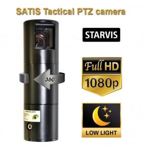 SATIS - Robuste PTZ 30x cylindercam periscope camera tactique