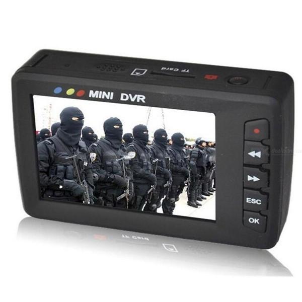 Mini DVR analogique D1 1 voie MPEG4