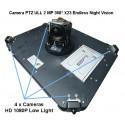 TopBox Top-Case camera PTZ 360 2MP moto scooter