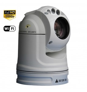 30DH61W Vehicule PTZ camera IR 940 rapidly depoyable