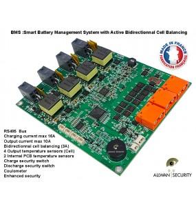 Smart-BMS4S Actif Battery Management System 14.8V 10Ah