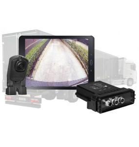 Caméra de recul sans fil HD semi-remorques vision sur tablette android poids lourd camion changement remorque facile