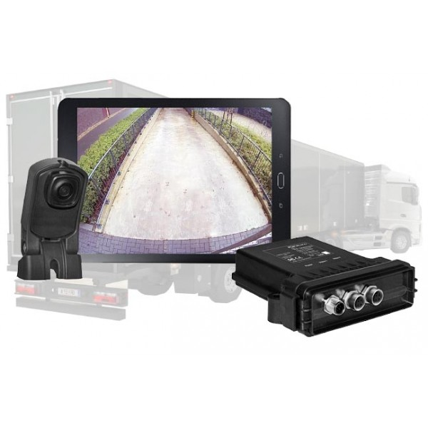 Caméra de recul sans fil HD semi-remorques