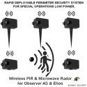 Camera PTZ - Observer Tactical video surveillance 4G