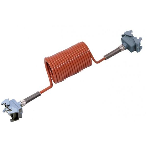 0303630 cable spirale camera orlaco scania daf liaison tracteur semi cablage