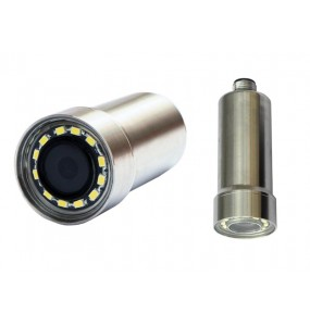 ZB1970LED Mini Stainless steel camera with connector