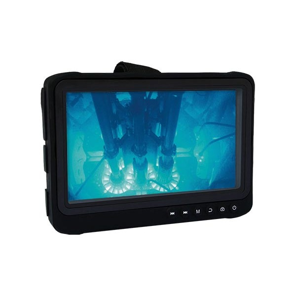 """LUMISS07 Ecran enregistreur 7"""" portatif étanche Full-HD sur batterie intervention inspection"""