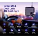 DASH-C9 Dashcam wifi 4G LTE 2 cameras