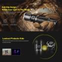 XT21X Torche tactique rechargeable XT21X LED 4000 lumens - Klarus