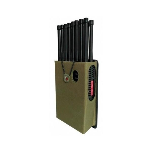 BR16AIO Brouilleur 4G 5G 5Hhz GPS RC WiFi UHF 30m