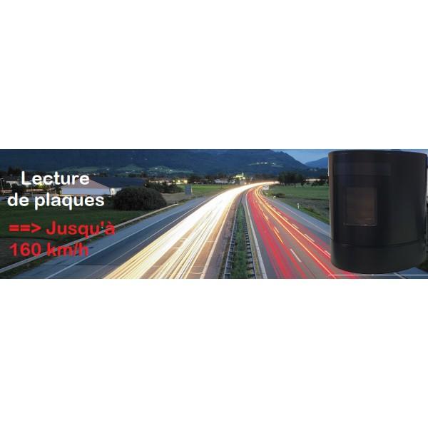 SPARTAN LPR LAPI Camera lecture de plaques d'immatriculation tactique