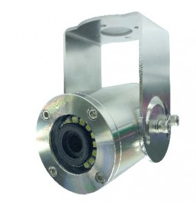 Underwater professional video camera for offshore and boats applications
