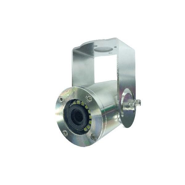 Caméra immergeable renforcée 50m profondeur réel inox 316 IP68 inspection nucléaire piscine, mer, ocean, offshore, surveillance