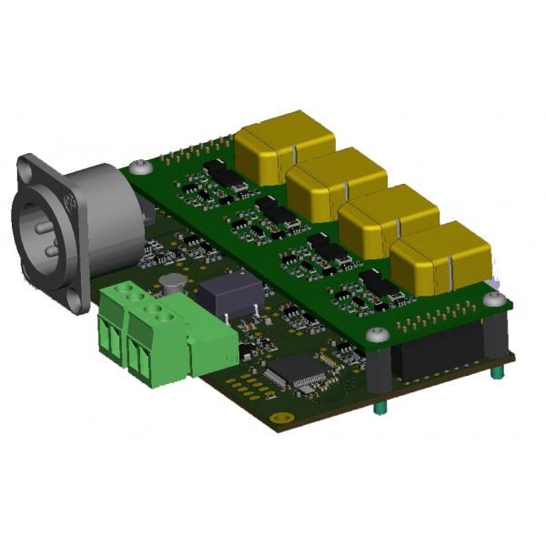 SMARTSWITCH Controleur entrée sortie 16 voies E/S WEB IP SMS GSM RC pour SmartBatLi12xx