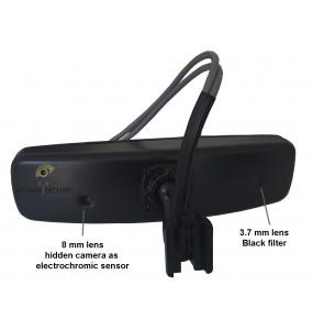 retro2cam rétroviseur double camera jour/ nuit HD 1080p 2MP