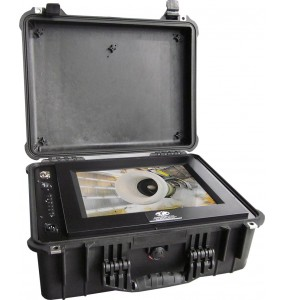 Valise Camera integrée Durcie IP67 VISION-CASE | Allwan