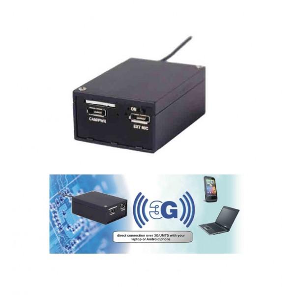 Module d'enregistrement audio/vidéo miniature avec retransmission 3G/UMTS OPERA 3GS Allwan