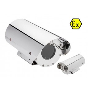 129EX Caisson pour Camera en Zone ATEX INOX 316L