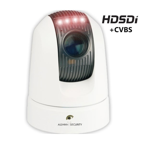 CAMERA DOME MOTORISEE PTZ IR HD-SDI VSHD20
