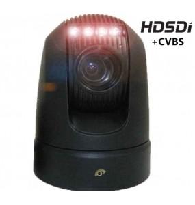VSHD20 Camera dome motorisé 360° PTZ IR HD-SDI durci analogique